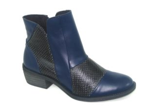 4703 PIEL SAUVAGE NAVY SERPIENTE PYTON WINTER NEGRO P-TEXAS 35-41